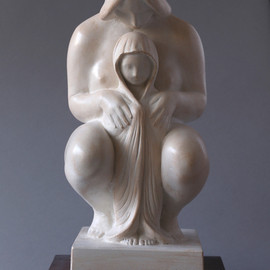 Penko Platikanov: 'Mother with Child', 2014 Other Sculpture, Figurative.