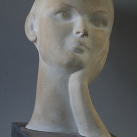 Penko Platikanov Artwork Portrait of Lana, 2015 Other Sculpture, Portrait