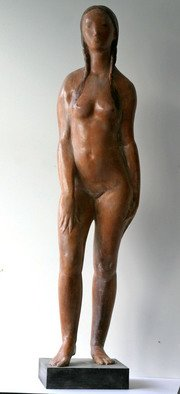 Penko Platikanov: 'Russian Girl ', 2010 Other Sculpture, Figurative.
