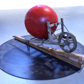 Tom Curtis: 'The Sacrilege of Sisyphus', 2007 Mixed Media Sculpture, Conceptual.