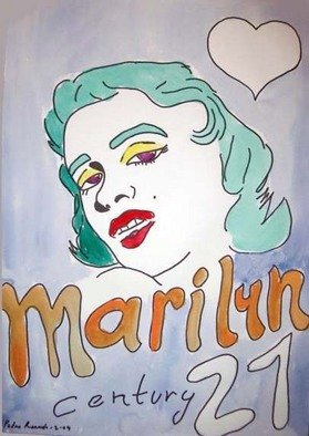 Undefined Medium by Pedro Ramon Rodriguez Quintana titled: Marilyn series, 2004