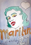 Undefined Medium by Pedro Ramon Rodriguez Quintana titled: Marilyn series, created in 2004