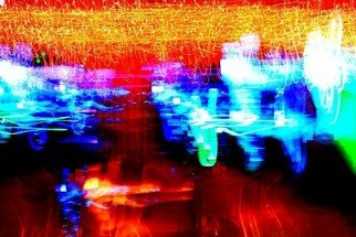 Prasite Tamrongsintaworn: 'Abstract photography', 2012 Color Photograph, Abstract. Artist Description:  Abstract photography. The series of abstract photographs a form of experimental photography with lighting by Prasite Tamrongsintaworn, Fine art photographer from Thailand.   ...