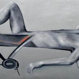 Pratibha Singh: 'Transformer 2', 2010 Oil Painting, Figurative.