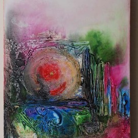 Priyanka Gupta Agarwal Artwork I open new doors to life, 2008 Acrylic Painting, Abstract