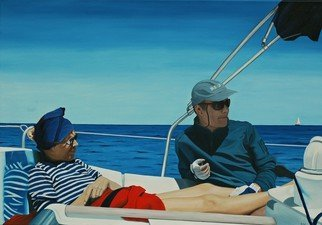 Artist: Peter Seminck - Title: Steady she goes - Medium: Oil Painting - Year: 2013