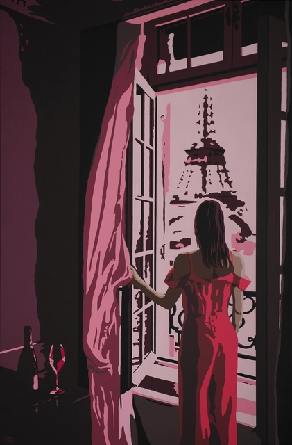 Peter Seminck  'La Vie En Rose', created in 2020, Original Painting Acrylic.