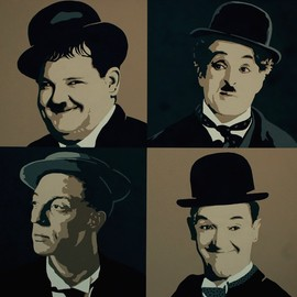 silent movie heroes By Peter Seminck
