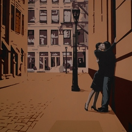urban kiss  By Peter Seminck