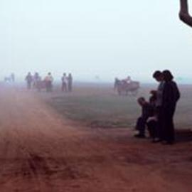 Paul Slaughter: 'Foggy Morning in Annui', 1986 Color Photograph, Landscape. Artist Description: (c) Paul Slaughter-This photograph was created while awaiting an airplane in Annui Province, China. Available as a fine art print onFujicolor Crystal Archive paper....