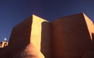 Artist: Paul Slaughter - Title: Rancho de Taos Church - Medium: Color Photograph - Year: 1997