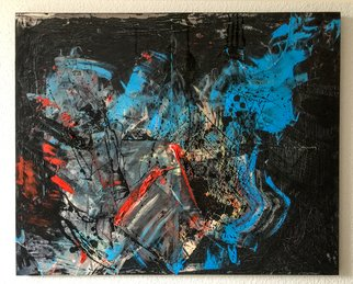 Quintensiaga Oil Gallery: 'algidity', 2017 Oil Painting, Abstract. Artist Description: Tilarids, September 2017...