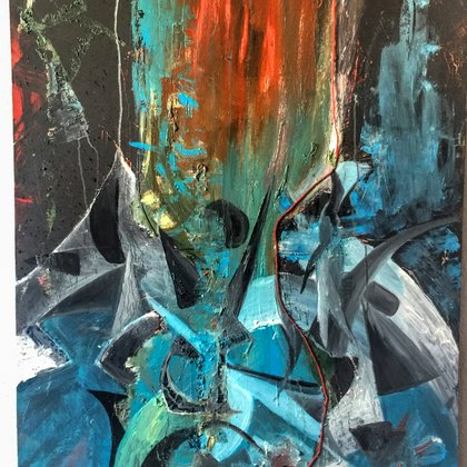 , Ravage, Abstract, $525