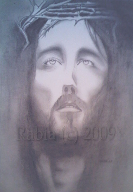 Jesus Christ Charcoal Drawing By Marilyn Manson Absolutearts Com
