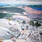 climbing up mt monadnock By Rachel Stearns