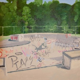 north hampton skate park 2018 By Rachel Stearns