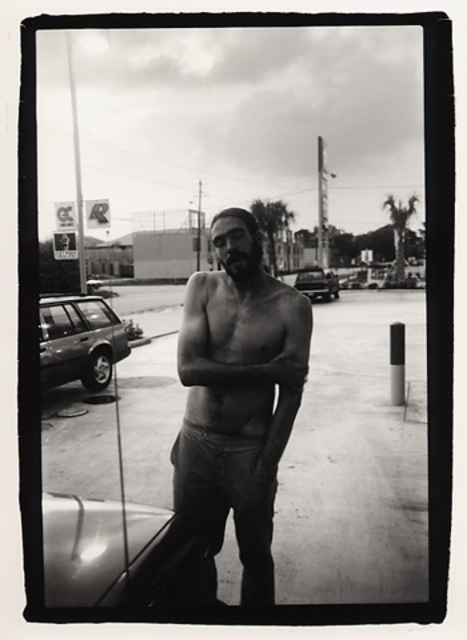 Rachel Schneider  'Houston Man', created in 2002, Original Photography Color.