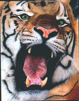 Undefined Medium by Rae Marie titled: TigerSpeaks, 2000