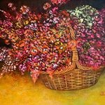 flowers in the basket By Rafail Aliyev