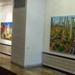 Art Exhibition Naive, Raphael Perez  Israeli Painter