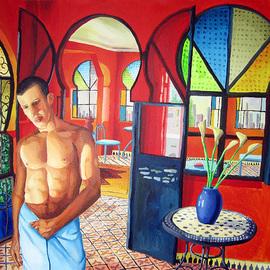 gay art nude male paintings homosexual artworks queer art painting