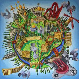 jerusalem naive paintings