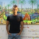 Naife Painters Folk Artist, Raphael Perez  Israeli Painter