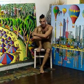 naive artist naife art  painter folk artworks paintings