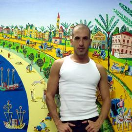 naive painter folk artist
