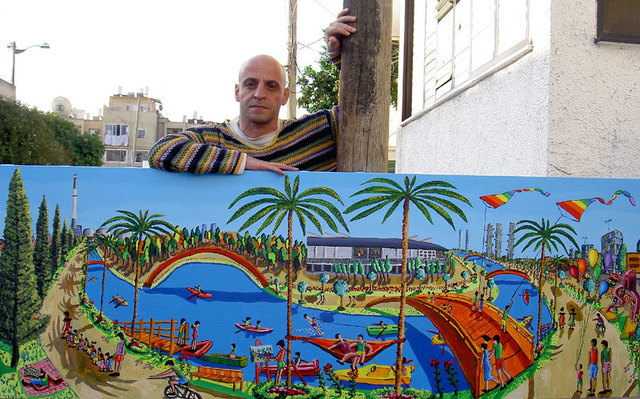 Raphael Perez  Israeli Painter  Naive Painters  Naife Artists Folk Painter Primitive Artist 2016