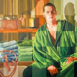 Raphael Perez  Israeli Painter : 'realistic painter artist', 2018 Acrylic Painting, People. Artist Description: realistic painter artist   raphael perez israeli artists painter realism art paintings ...