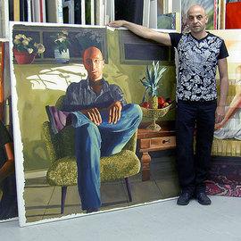realistic paintings on raphael perez studio realism art