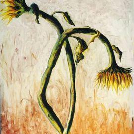 sunflowers plainting still life of sun flowers art painter raphael perez