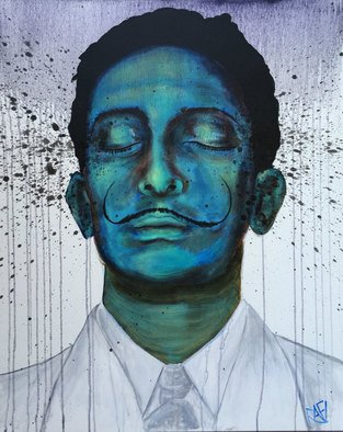 Rafi Perez: 'salvador dali expressions', 2017 Mixed Media, Famous People. Artist Description: Salvador dali, influence series...