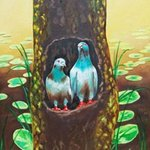 LOVE BIRDS By Ragunath Venkatraman