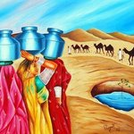 colour of oasis By Ragunath Venkatraman