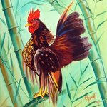 crown of the serama chicken By Ragunath Venkatraman
