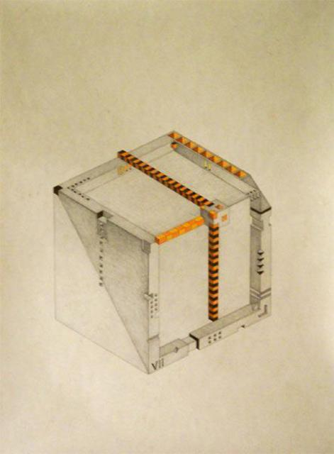 Dmitry Rakov Cubic Clock 2006