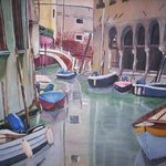 A Little Window Through Venecia By Ramona Marquez Ramraj