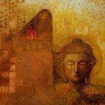 Enlightened Buddha By Ram Thorat
