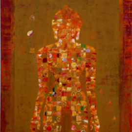Ram Thorat: 'Know truth within', 2011 Acrylic Painting, Spiritual. Artist Description:              Indian contemporary art, spiritual art, Buddha Paintings, painting on Buddha life,              ...