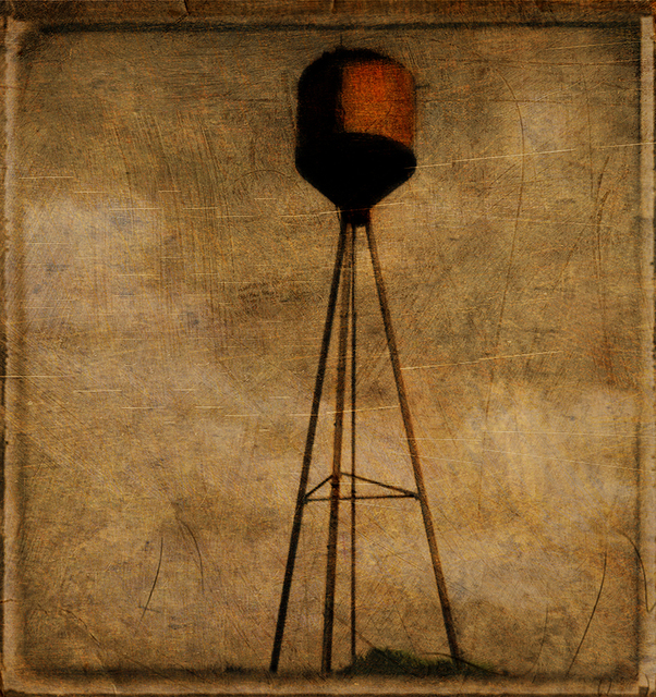Reuben Njaa  'FalfurriasTexas Watertower', created in 2007, Original Photography Color.