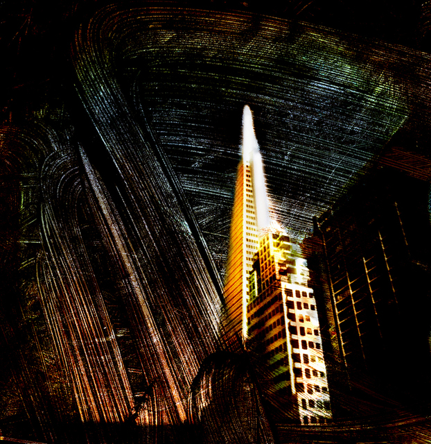 Reuben Njaa  'Landmark San Francisco', created in 2006, Original Photography Color.