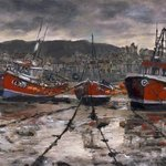 Staithes Low Tide By Randy Sprout