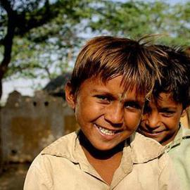 Ranjan Sharma: 'Expression', 2006 Color Photograph, Children.