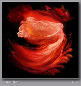 Artist: Freydoon Rassouli - Title: Queen of Flow - Medium: Oil Painting - Year: 2012