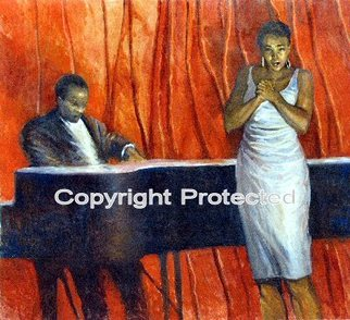 Ron Anderson Artwork Blues in the Key of C, 2008 Oil Painting, Figurative