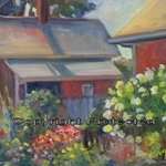 English Garden In German Village, Ron Anderson