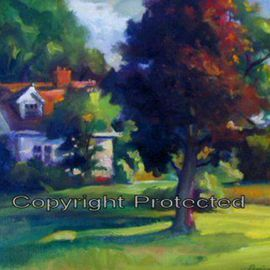 House With A Red Tree, Ron Anderson