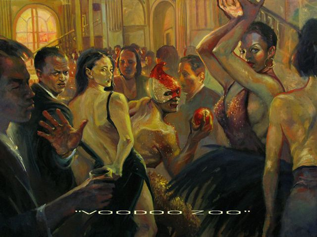 Ron Anderson: Voodoo Zoo, 2005 Oil Painting